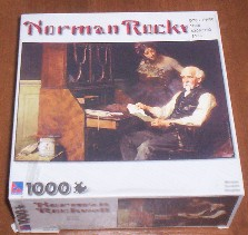 Norman Rockwell Jigsaw Puzzle Box